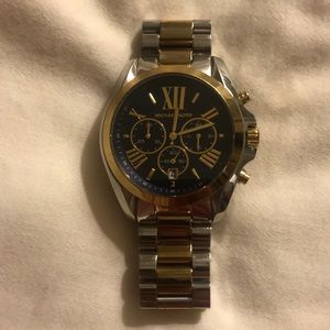 Michael Kors Accessories - Michael kors Gold And Silver Watch